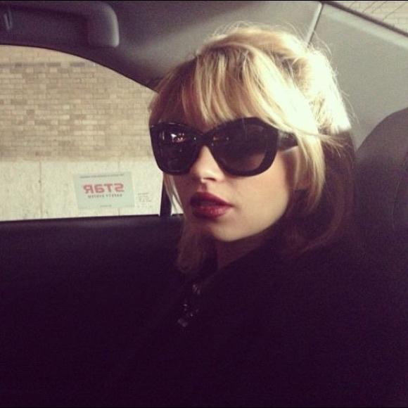 e18d8efeae4 DITA Accessories - Dita Vesoul Black Cat-eye Sunglasses